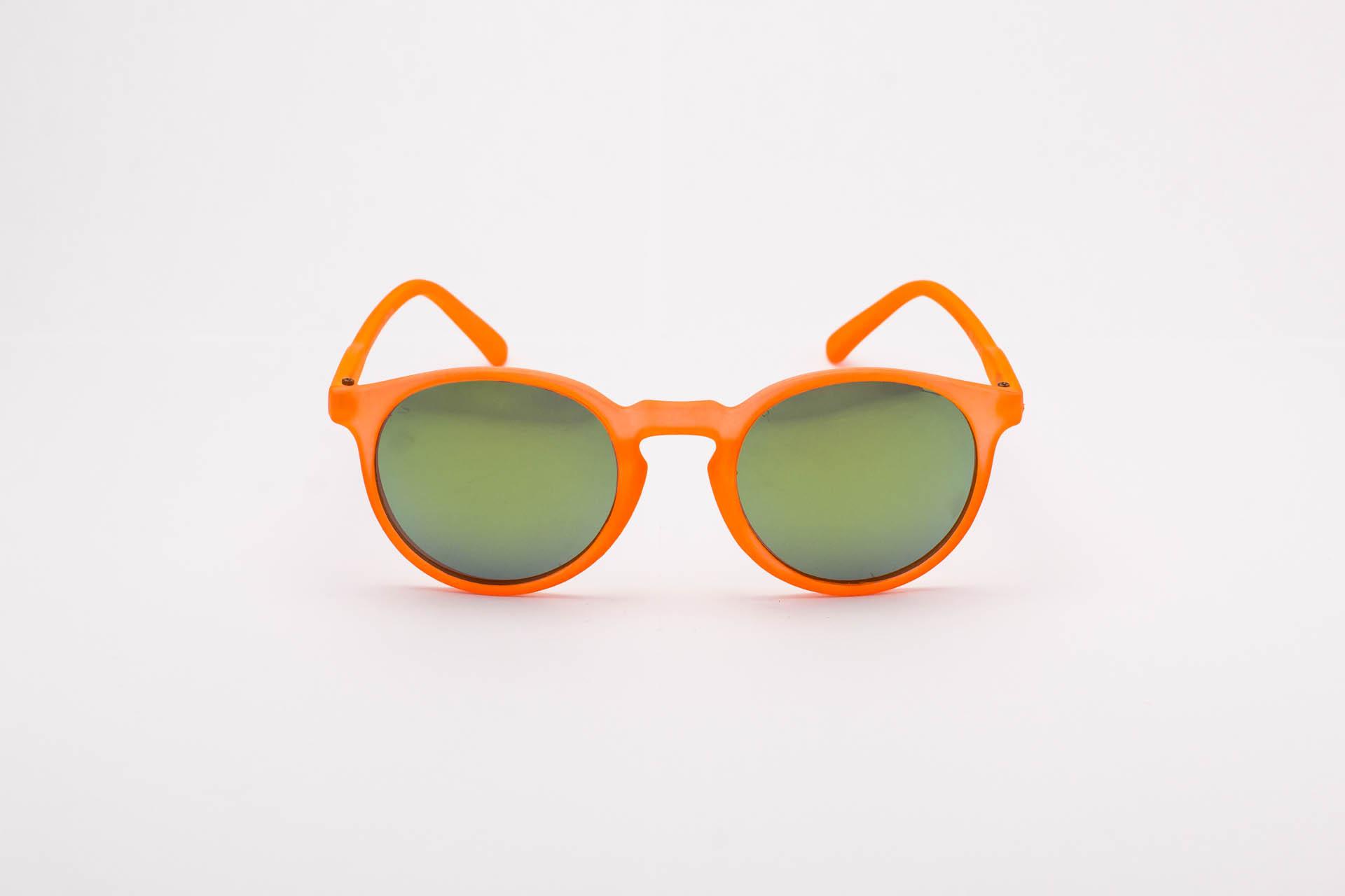 Junior round orange